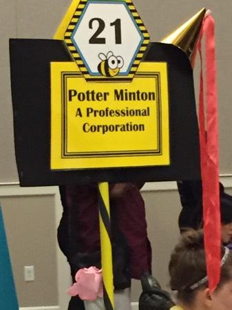 Winner.. Potter Minton