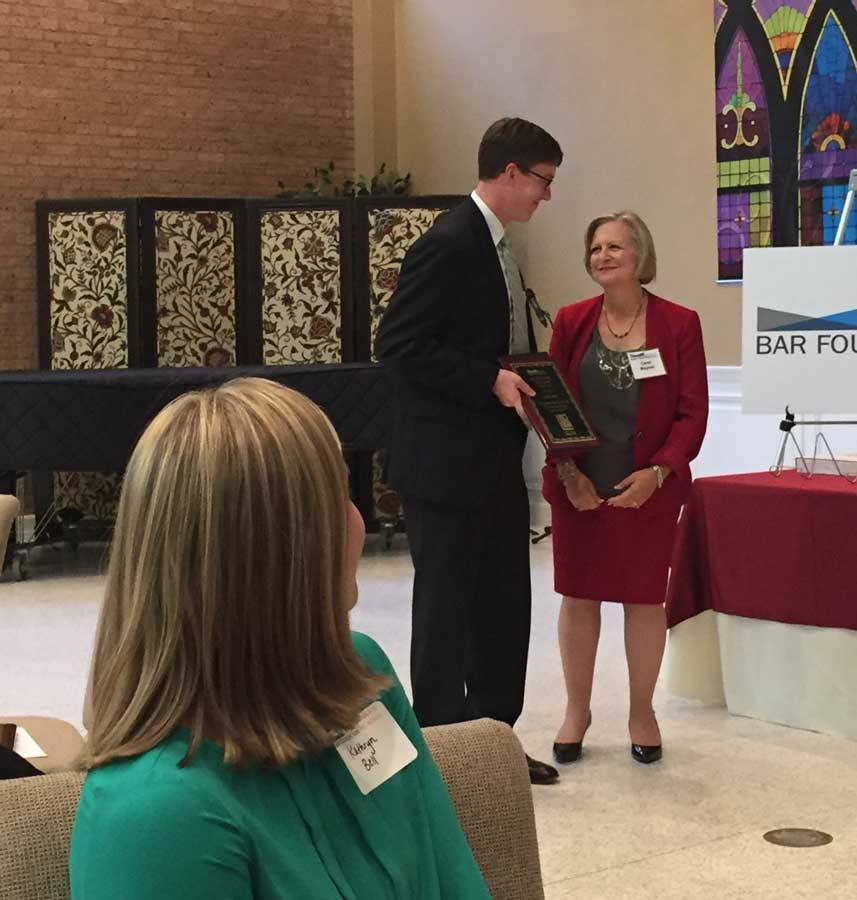 Young Attorney Volunteer of the Year - Potter Minton