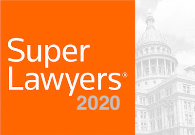 Potter Minton Attorneys once again selected to the 2020 Texas Super Lawyers List